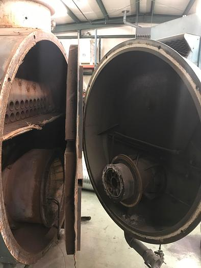 1990 Cleaver Brooks CB200-200 200 PSI 200 HP  CB200-200 Steam Boiler Fire Tube
