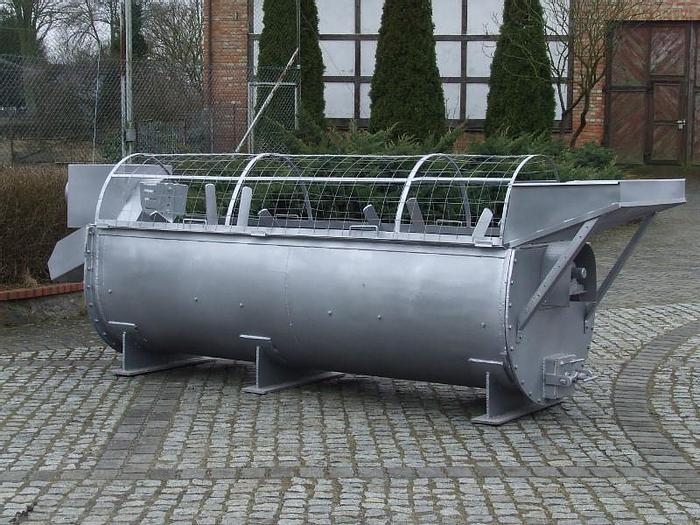 Used Łapowa myjka warzyw okopowych w kąpieli wodnej