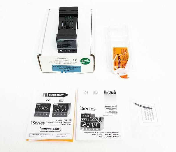 Omega CNi1633 Temperature Control NEW (6211)