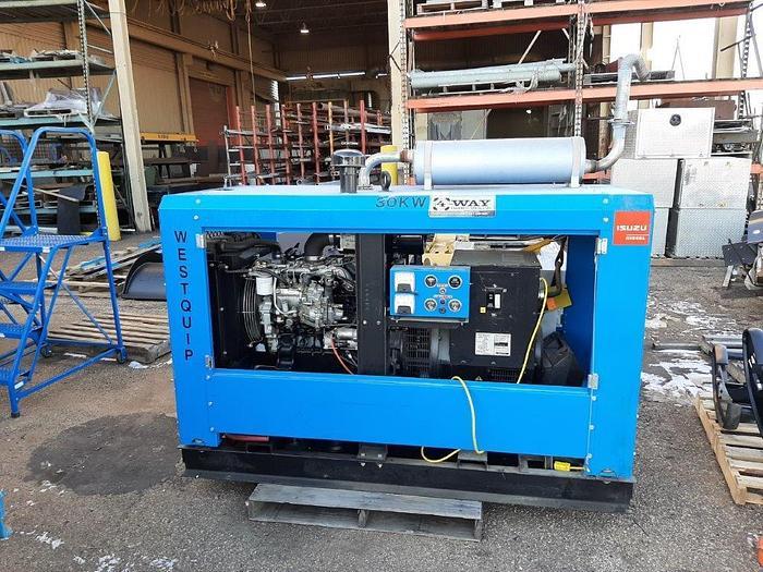 Used 30kW Westquip Diesel Generator