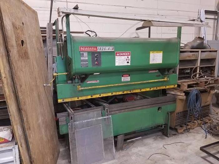 Niagara Press Brake 25 ton