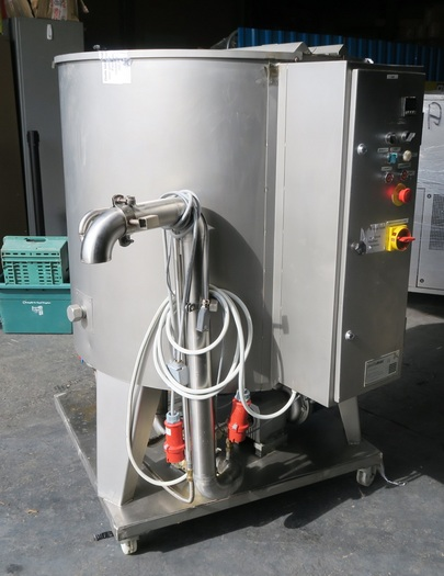 Prefamac 500 litre melting and mixing kettle
