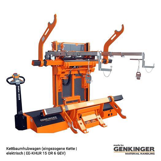 Genkinger Warp Beam Lift Truck (Drawn-in Chain electric EE-KHUR 15 or 6 GEV)