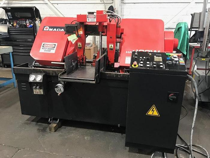2015 AMADA HA-400W HORIZONTAL BAND SAW