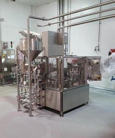 2014 MAKUM Rotary Tray Fill & Seal Machine