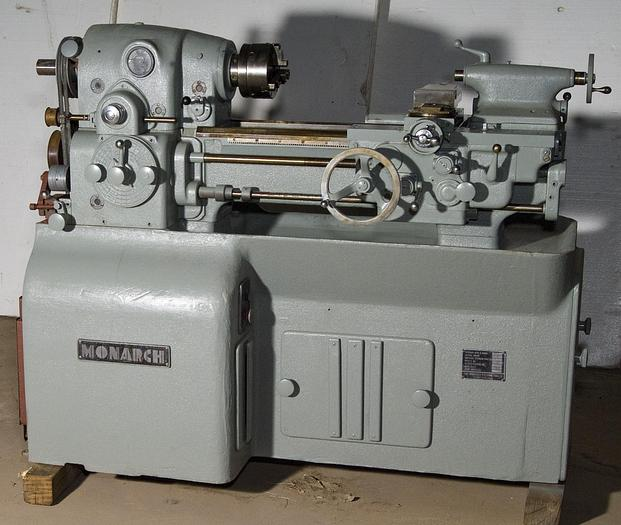 Used 10 in. x 20 in. Monarch Mdl. 10EE Toolroom Lathe