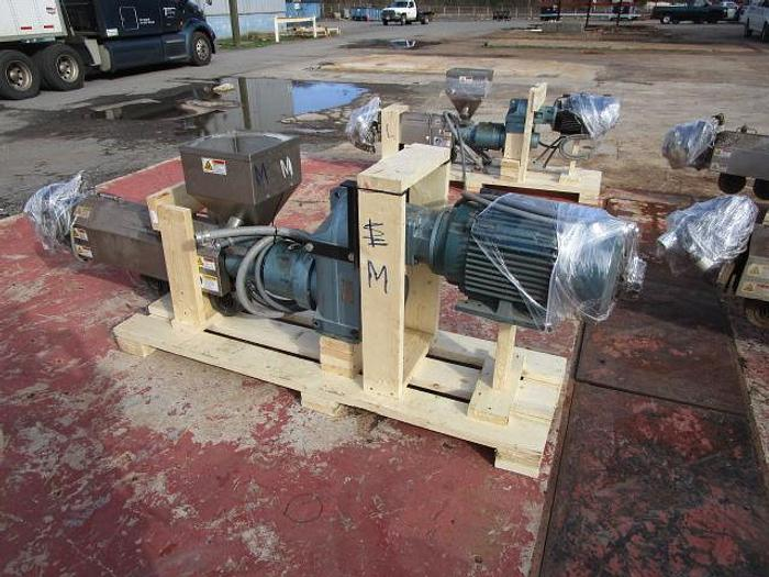 "Used 1 1/2"" Davis Standard Extruder 15 hp stock # 4756-028C"
