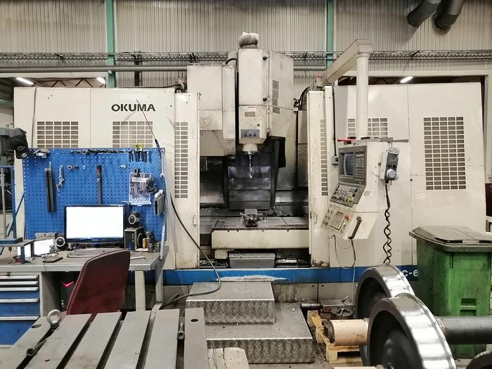 Used Okuma MC60VAE, från 1997, Kraftfull vertikal fleroperationsmaskin