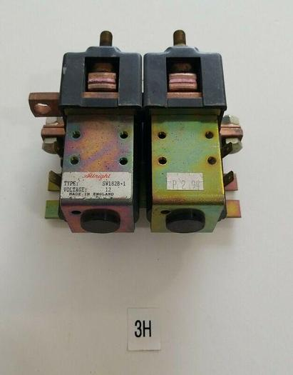 Used *PRE-OWNED* ALBRIGHT SW182B-1, 12V Contactor + FAST SHIPPING!