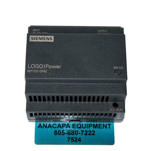 Used Siemens LOGO! Power 6EP1332-1SH52 USED (7524) W