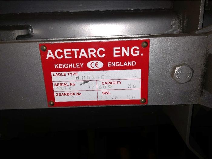 ACETARC DUCTILE IRON LADLE