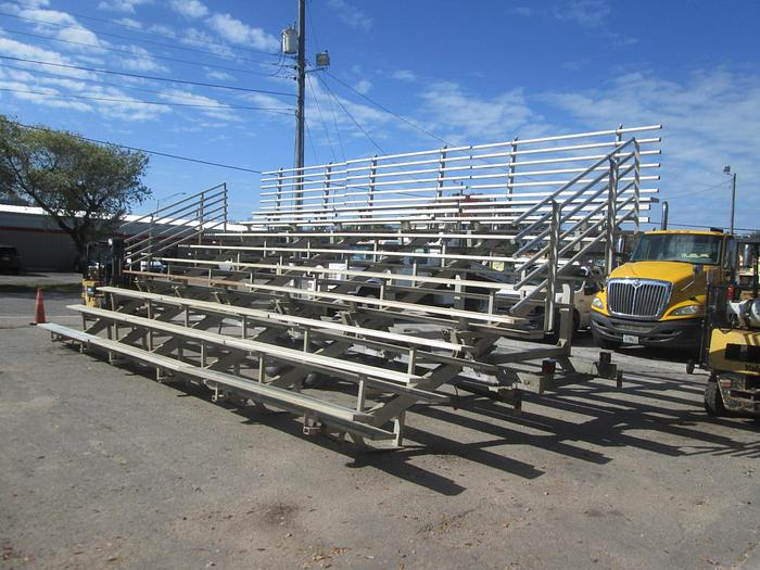 Used Portable Fold Out Bleachers