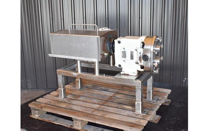 USED SPX ROTARY LOBE PUMP, MODEL 060-U1, STAINLESS STEEL