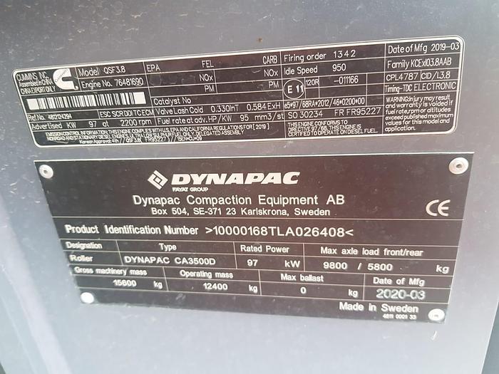 Dynapac CA3500D
