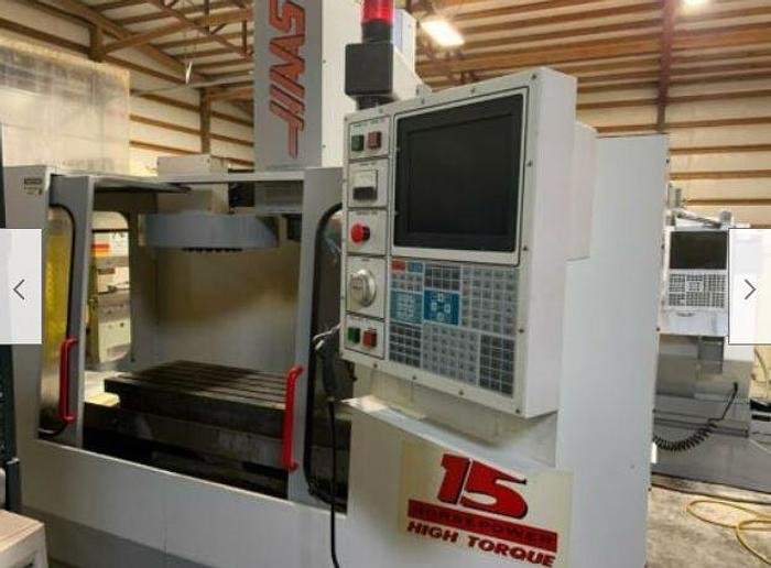 Haas VF-4 CNC Vertical Machining Center 4 axis ready