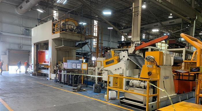 "600 ton PTC 144""x60"" SSDC Stamping Press"