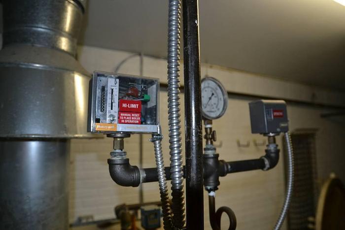 Autoclave (horizontal) and Ajax Boiler