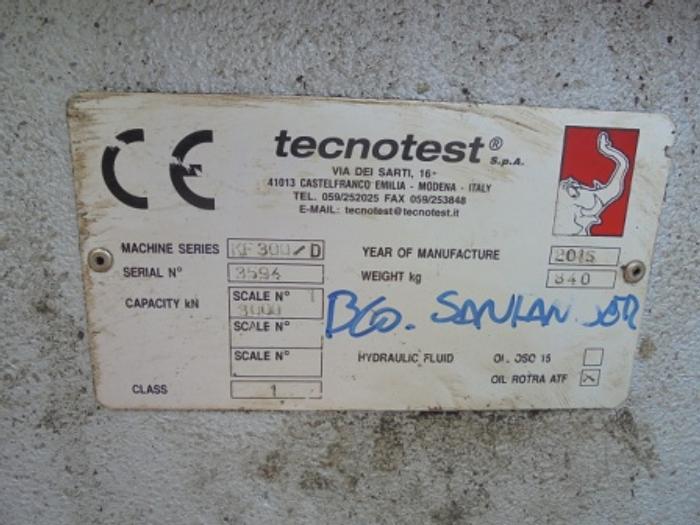 2015 TECNOTEST KF 300/D