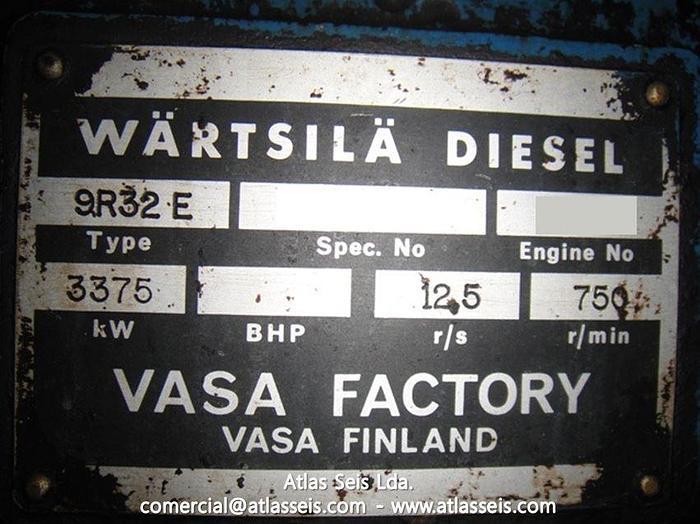 2 x 3.25 MW Dual Fuel Power Plant Wartsila 9R32
