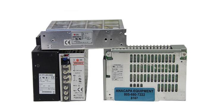 Used ETA WRD24SX-U, WRB05SX-U, FYM500/53GT, FY12010GN Power Sources Lot of 3 (8167)W