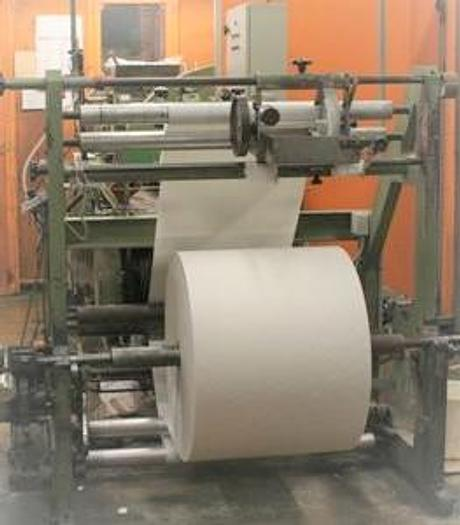 Used 1980 BIAGIONI Flat & satchel paper bag making machine (beater type)