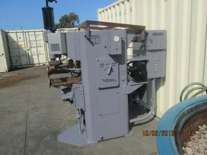 Used TAYLOR WINFIELD 75 KVA SEAM WELDER WITH CONTROLS , RESISTANCE, SPOT