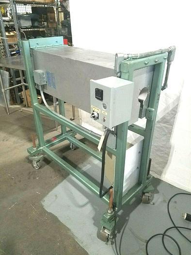 Used Radround Keyhole 4000 Watt Radiant Process Heater Oven Inline Cable Fiber Tubing