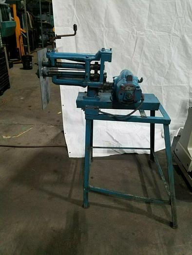 Used Century Roller Crimper Machine for Sheet Metal 110V