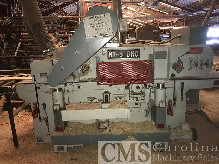 Used 2006 Northtech NT-610HC Double Side Planer