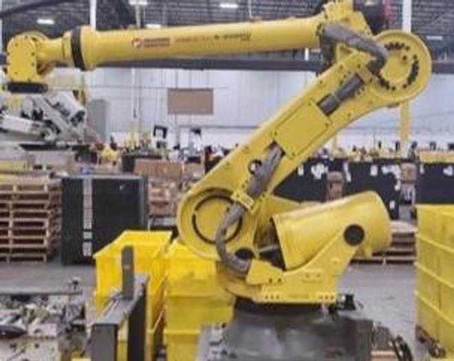 FANUC R2000iC/125L 6 AXIS CNC ROBOT WITH R30iB CONTROLLER, VISION, 125KG X 3,100 MM H REACH