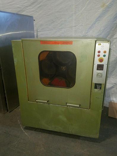 Used Manfrid Dreher High Speed Finishing Machine Tumbling Polishing Metal