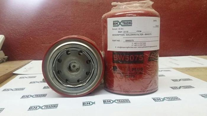 B&H-0119 : Baldwin BW5075 Coolant Filter