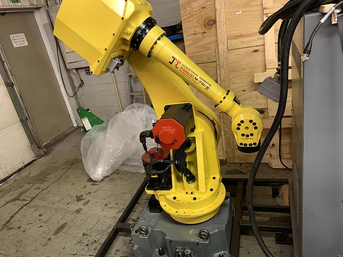 Used FANUC M710iB/45 6 AXIS ROBOT WITH RJ3iB CONTROLLER - REFURBISHED