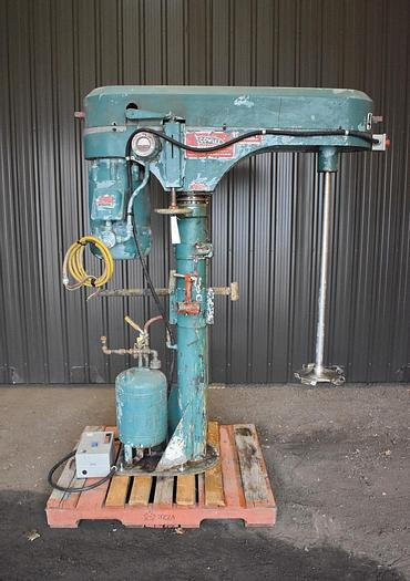 Used USED COWLES DISPERSER/DISSOLVER, STAINLESS STEEL, 15 HP