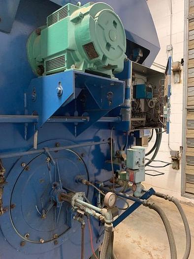 1991 Cleaver Brooks 700 / 800 HP Steam Boiler 150 PSI Natural gas/ Diesel CB-200-700