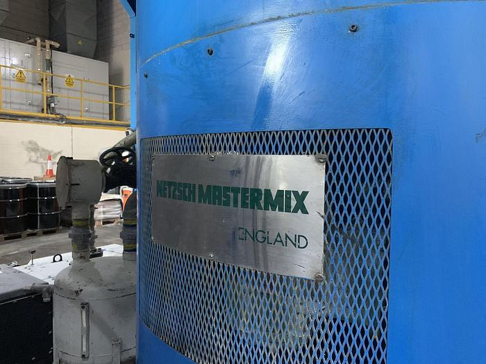 1987 NETZCH Mastermix PVC High Shear Mixer