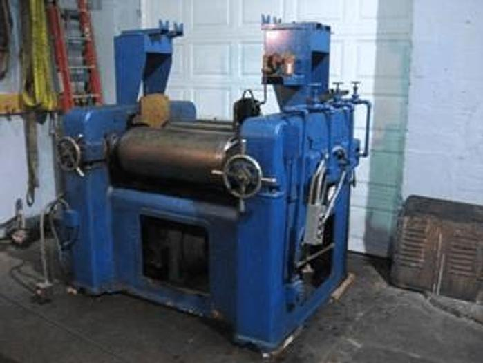 Used 14 in. X 30 in. J.H. DAY THREE ROLL MILL