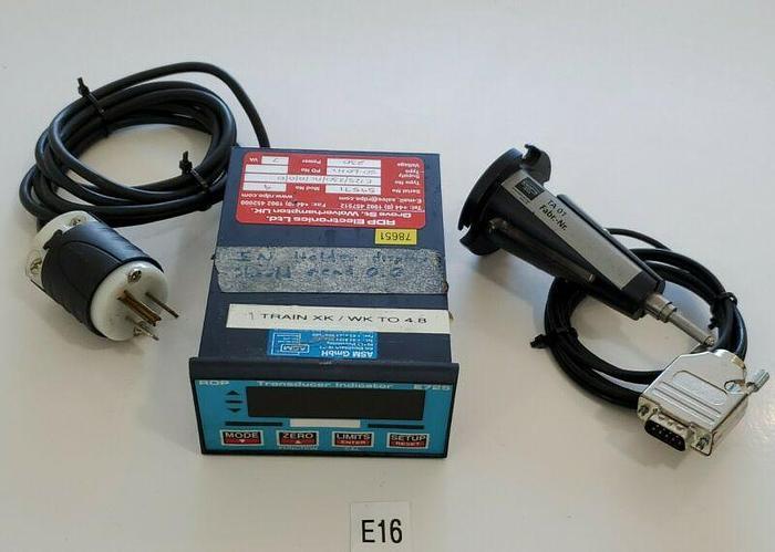 Used *PREOWNED* RDP E725 D-07739 Transducer Indicator Panel 230VA w/ TA 01 + Warranty