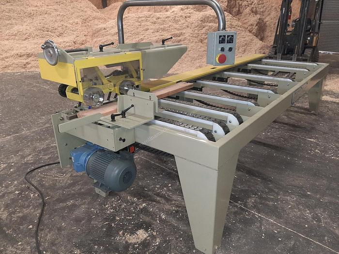 Custom Built Moulder Infeed
