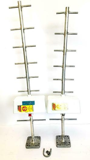Used Radio Frequency Systems PD10108-1, PD1018-2 Directional Antenna Lot of 2 (6670)W