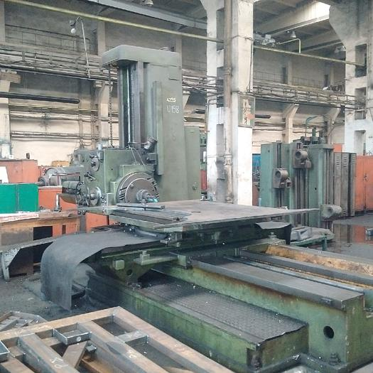 Used Horizontal Boring Mill TOS W100 1972