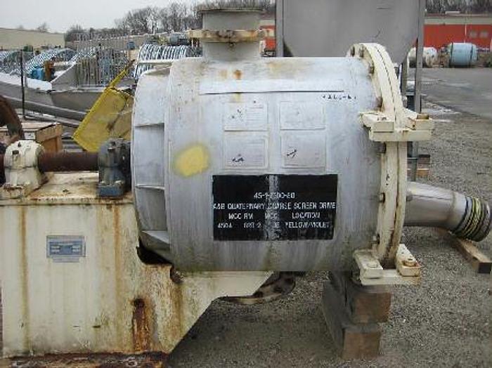 Used LAMORT DIABOLO SIZE 3 SCAVENGER/DETRASHER S/S 60 HP 80 - 150 TPD