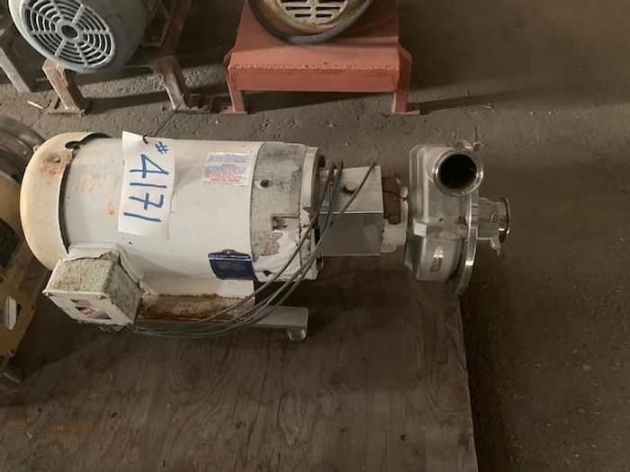 """Used Fristam 5 Hp 3"""" x 2.5"""" Centrifugal Pump  FPX 3532-175"""