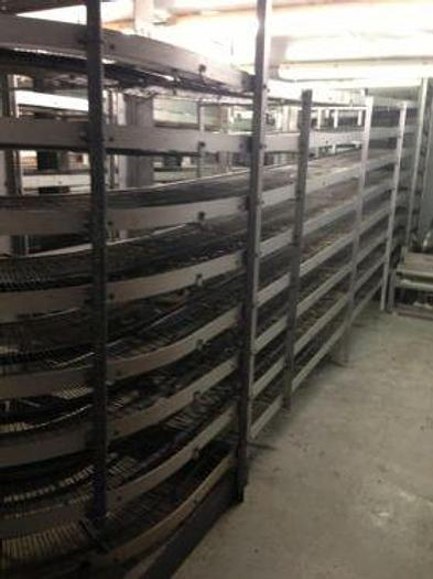 Used USED Stuart Double Track Cooling Racetrack Conveyor