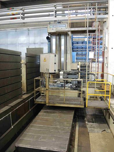 FORATRICE PER FORI PROFONDI A MONTANTE MOBILE TBT TE 30-500 CNC