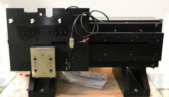 Used Veeco Vx330 Linear Motorized Stage Axis w/ Vexta Motor & Linear Encoder (5465)