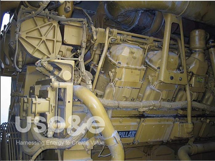Used 1.6 MW 2007 used 3516B CAT Diesel Genset
