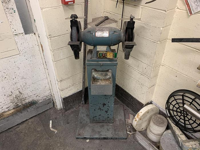 Used 2005 EXCEL MACHINE TOOLS  GRB202 Double Ended Grinder