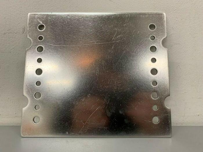 "Used Lot of 18- Stainless Steel 8.5"" x 7.5"" Press Filter Plates"