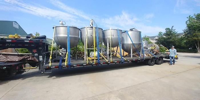 Refurbished 1,000 GALLON LEE KETTLE – S/S – 125 PSI JACKET – WITH NEW AGITATION (#9779)